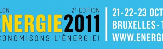 """Energie 2011 est le 1e salon National axé sur l'habitat et la mobilité"""""""