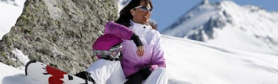 Ski et le soleil en montagne, dangereux pour les yeux
